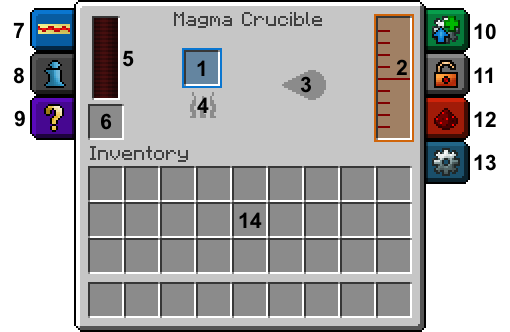 Magma Crucible - Thermal Expansion - Team CoFH